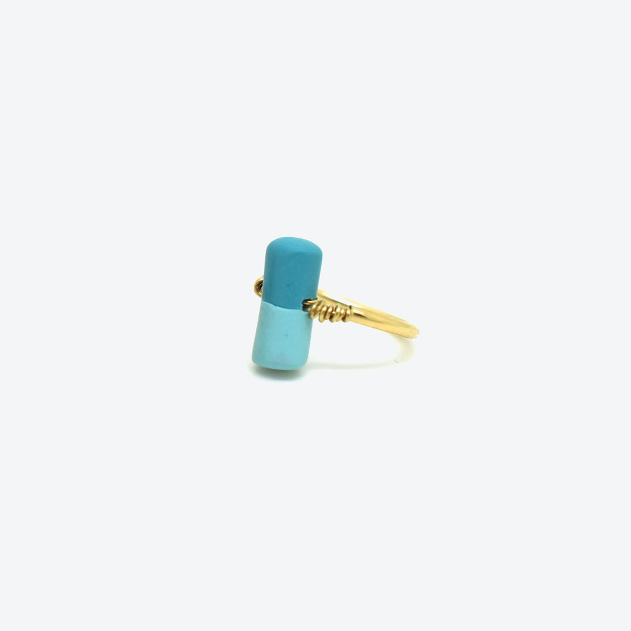 Pain Killer Ring - Turquoise