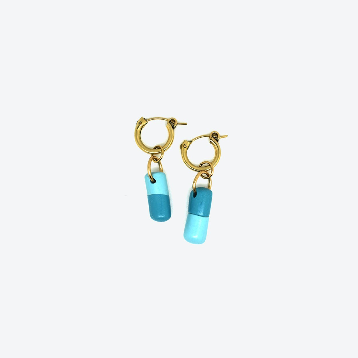 Pain Killer Earrings - Turquoise