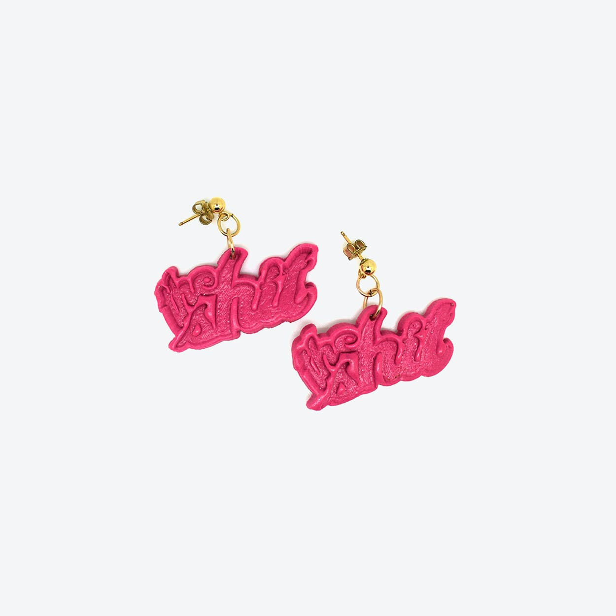 Humility Earrings - Pink