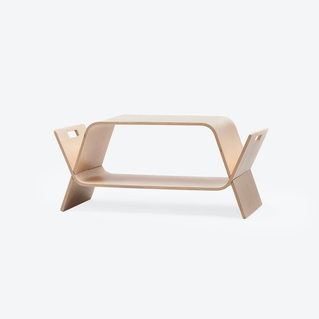 EMBRACE Coffee Table in Birch