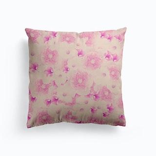 Blush Bouquet Cushion