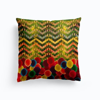 Chevron and Dots Cushion