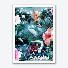 Mystical Morning Art Print