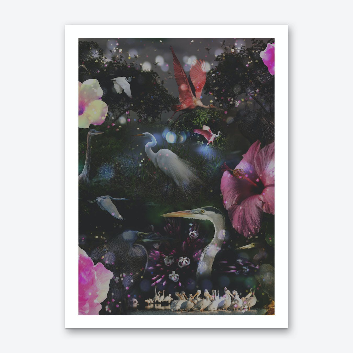 Mystical Night Art Print