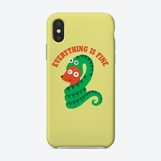 Everything is Fine Phone Case