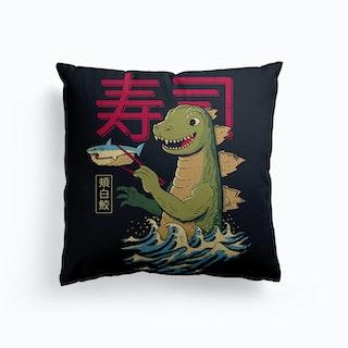 Monster Sushi Canvas Cushion