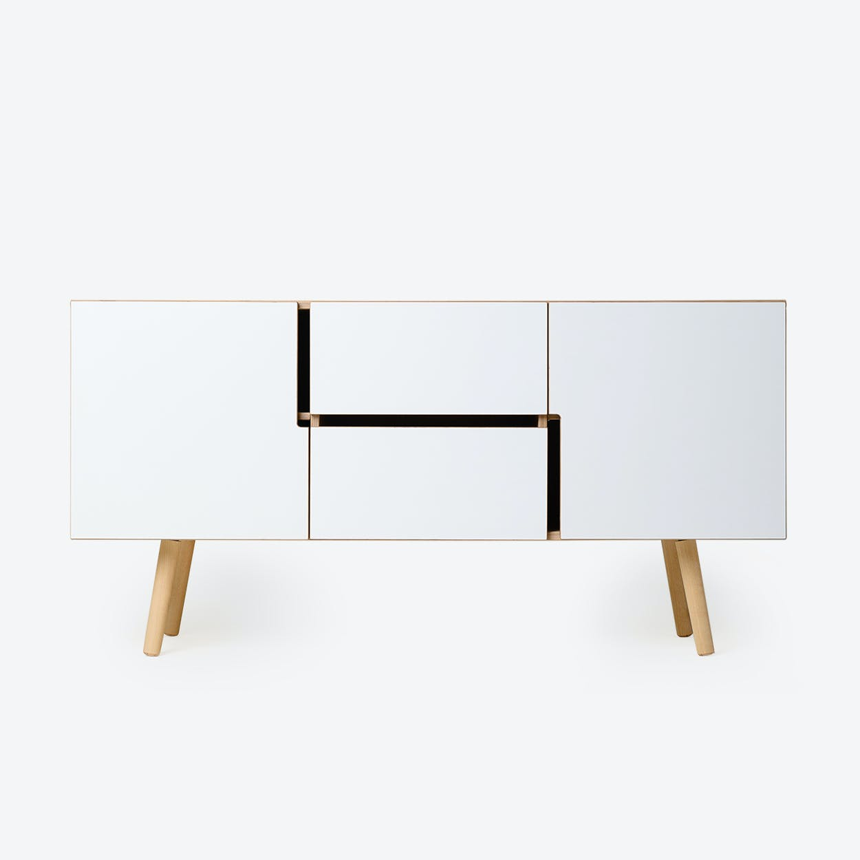 Sideboard MAN in Oak/White