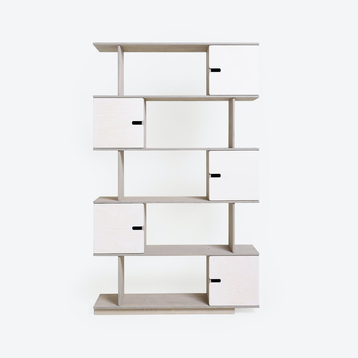 Shelf PIX 5-Levels in Light Grey/White