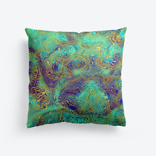 Abstract Marble III Cushion