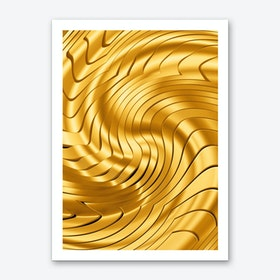 Goldie X Art Print