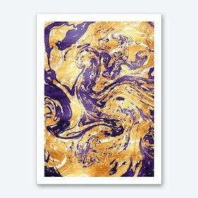 Marble XIV Art Print