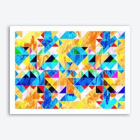 Geometric VIII Art Print