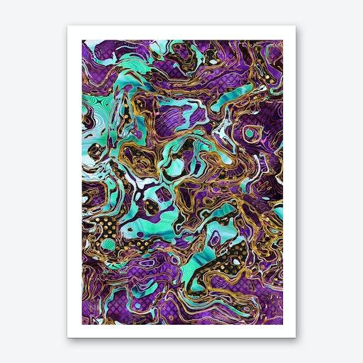Pattern LXXVIII Art Print