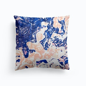 Abstract Marble Cushion