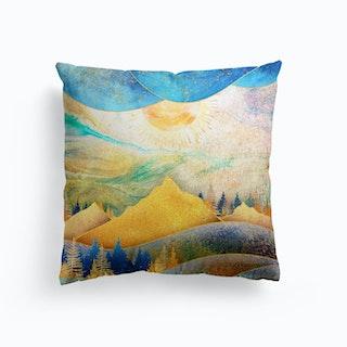Beauty Of Nature Illustration III Cushion