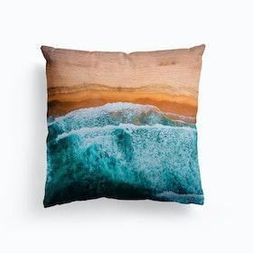 Tropical VII Beach Waves III V2 Cushion
