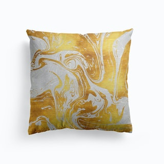 White Dragon Marble Cushion