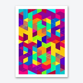 Pattern LXXX Art Print