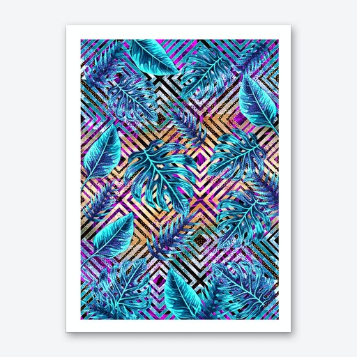 Tropical IX Art Print