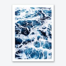 Tropical X Art Print