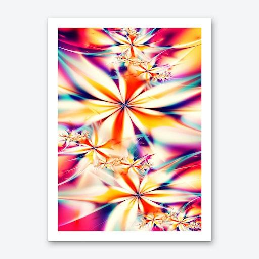Fractal Art XX Art Print