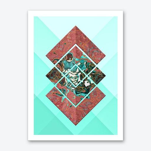 Geometric XX Art Print
