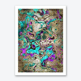 Pattern LXXIV Art Print