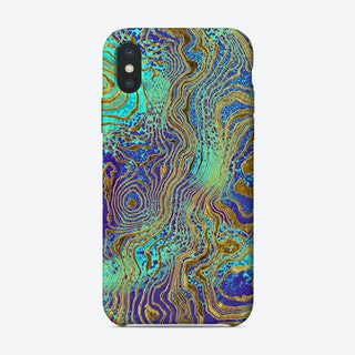 Art Marble IX iPhone Case