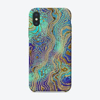 Art Marble IX iPhone Case