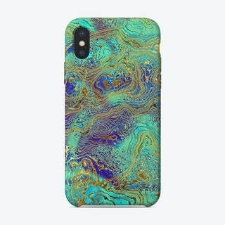 Art Marble VII iPhone Case