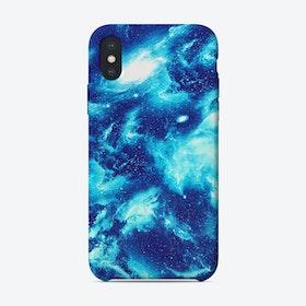 Blue Galaxy iPhone Case