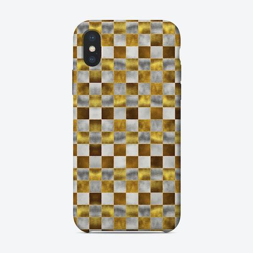 Checkered Pattern IX iPhone Case