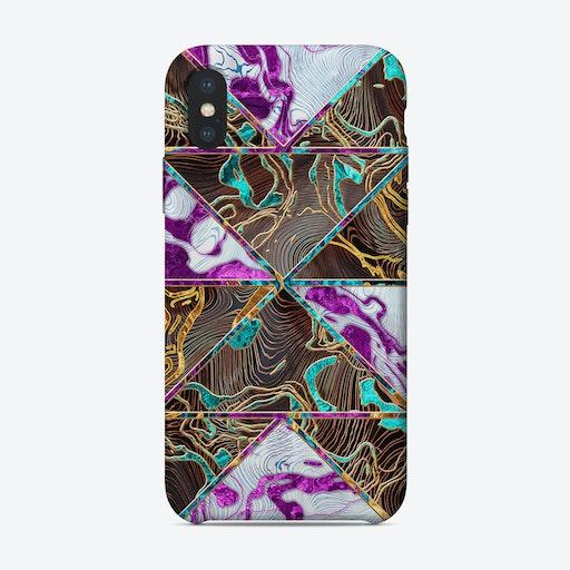Geometric XXVI iPhone Case