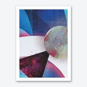 Collide Art Print