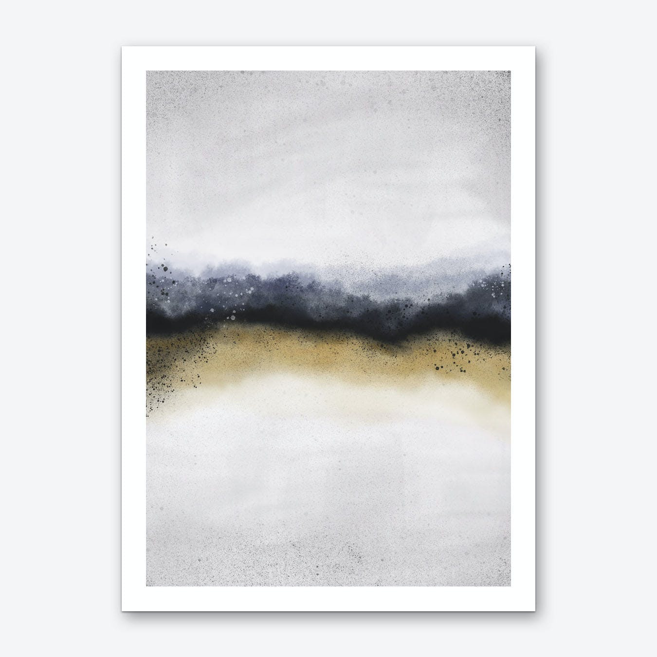 Narrow Sea 1 Art Print