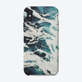Marble wave iPhone Case