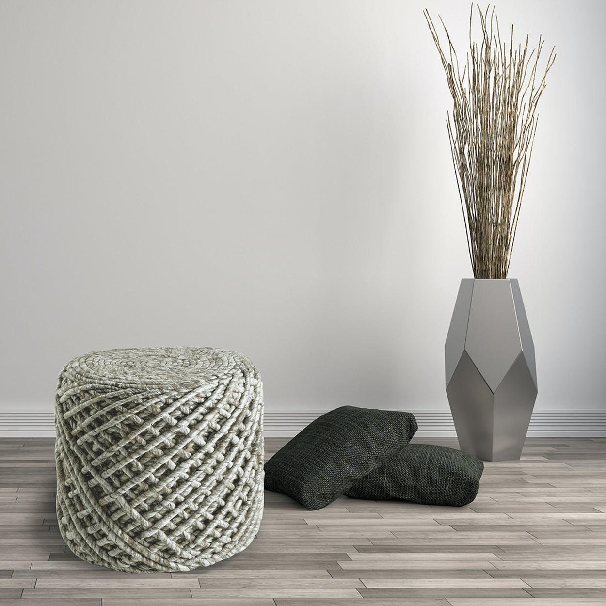 Pouf Royal 888 Sand Rug