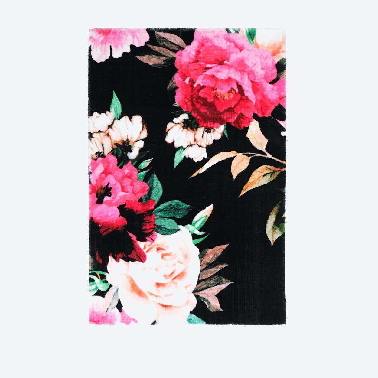 My Romance 210 Black Rug