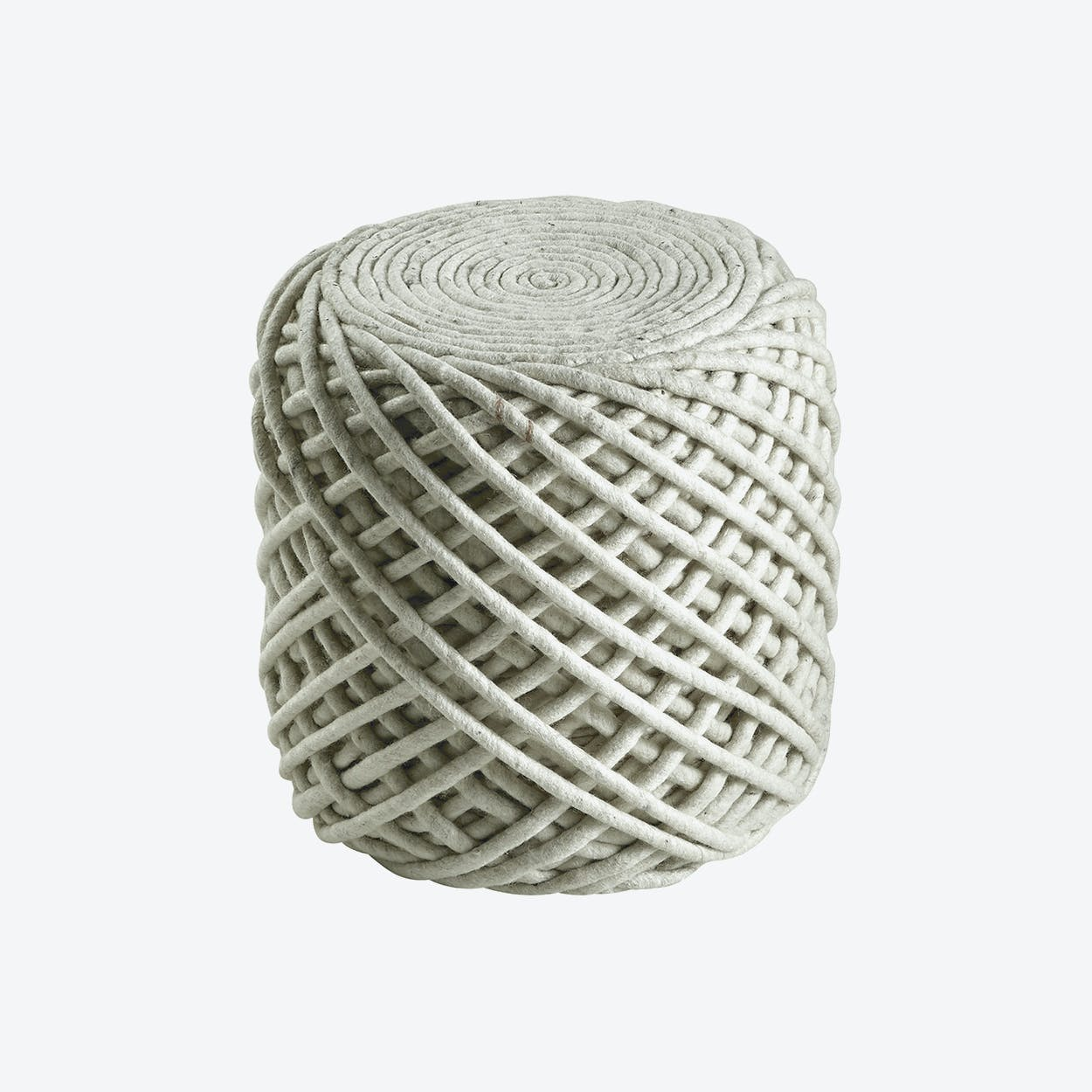 Pouf Royal 888 Ivory Rug