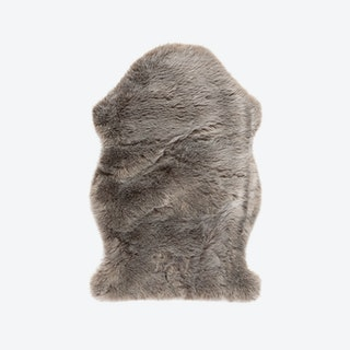 Samba 495 Faux Sheepskin Rug in Taupe