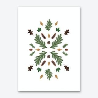 Winterland 1 Art Print
