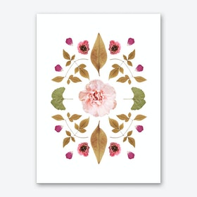 Floral Collage 2 Art Print