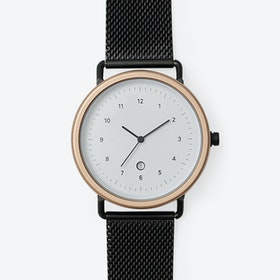 BB04 Watch (R.GLD/BLK CASE/BLK M.STRAP)