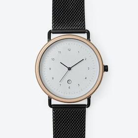 BB04 Watch (R.GLD/BLK CASE/BLK M.STRAP)