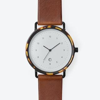 B407 Watch (WKY/  BLK CASE / COG STRAP)