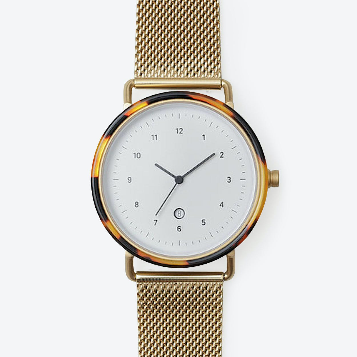 GG07 Watch (WKY/ GLD CASE / GLD M. STRAP)