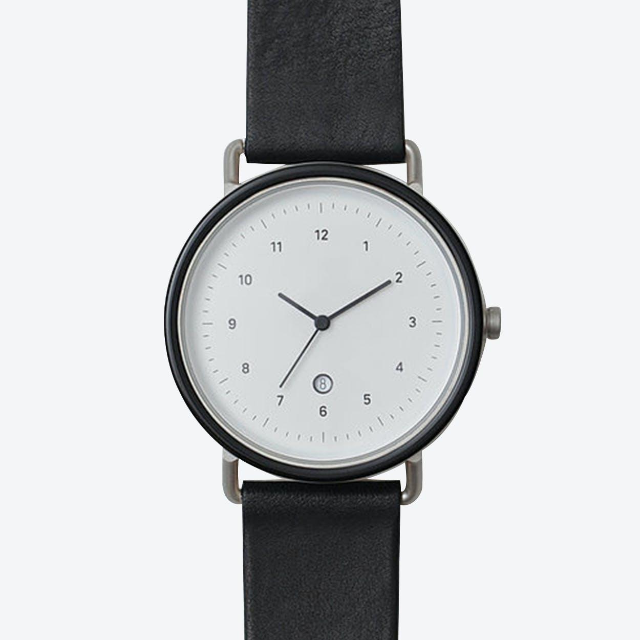 S105 Watch (J.BLK/ SIL CASE/ BLK STRAP)