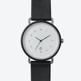 S105 Watch (J.BLK/ SIL CASE/ BLK STRAP)