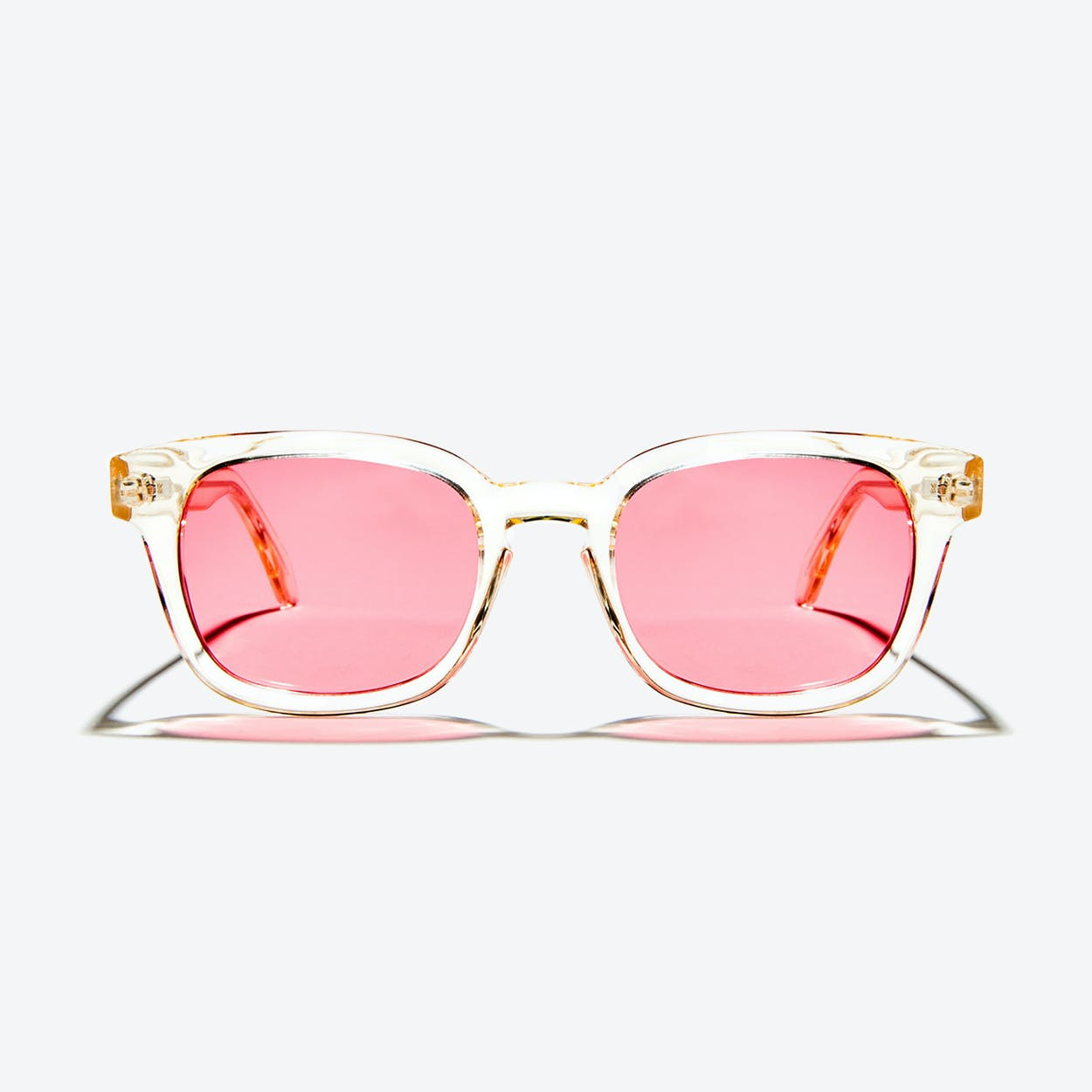 Minos Sunglasses in Crystal Champagne
