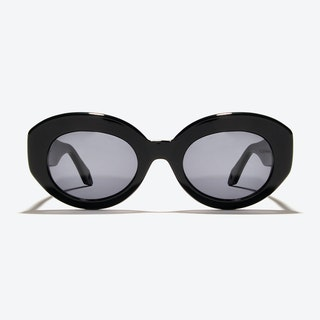 Ophelia Sunglasses in Black